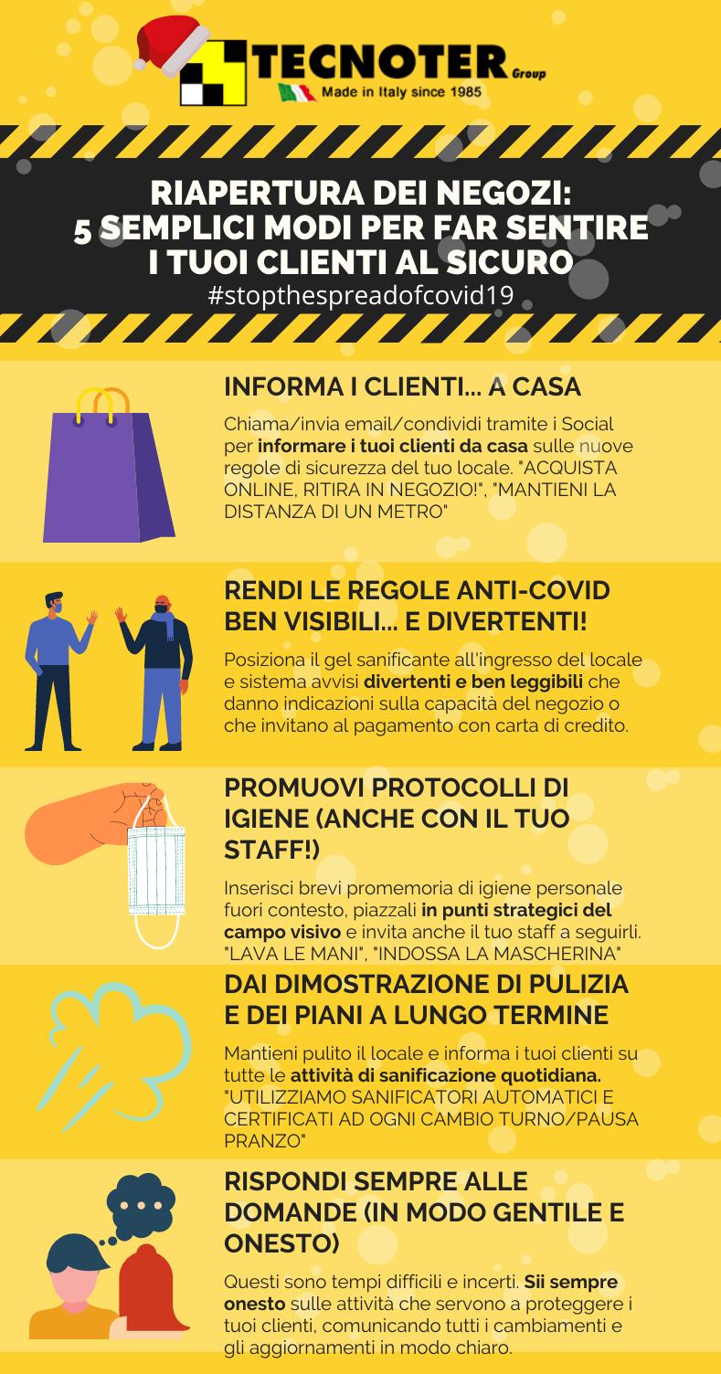 5 consigli sul far sentire al sicuro i clienti