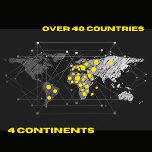 Tecnoter around the world